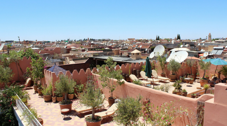 Marrakech Rooftops - Winter sun minus the jetlag - MyLateDeals