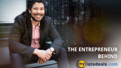 The entrepreneur behind Mylatedeals.com